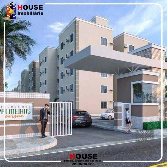 Cohama- Condomínio Palmeiras Prime 2, com apto de 2 quartos - Foto 2