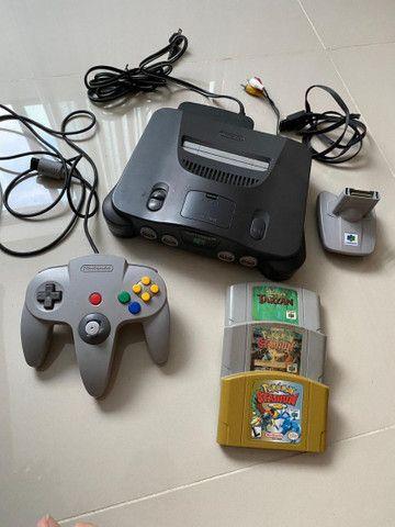 Nintendo 64 - Original! Completo!!!