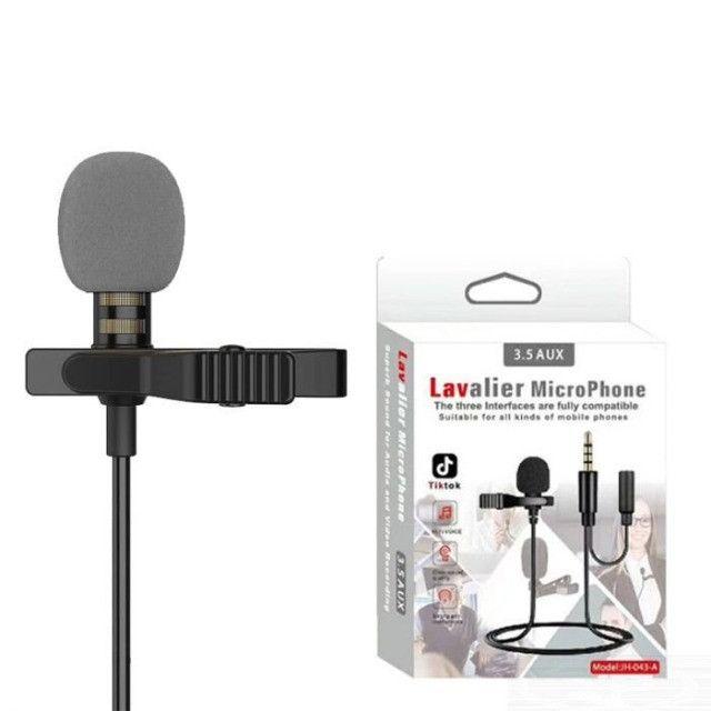 Microfone De Lapela Celular Smartphone Profissional Stereo - 7912 - Foto 2