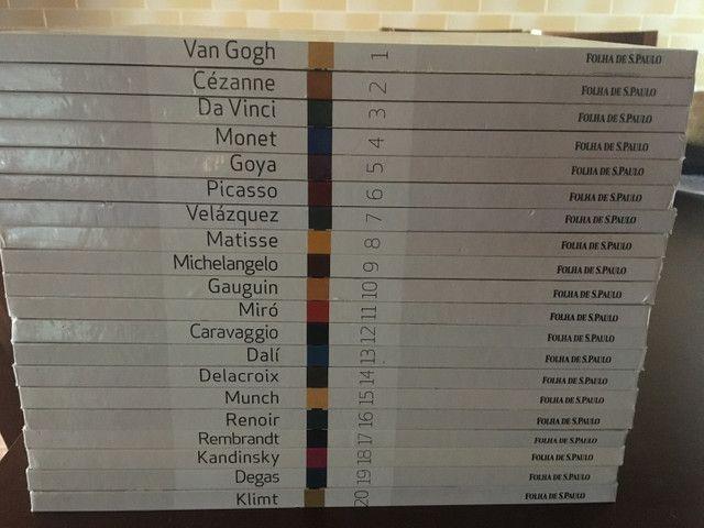 Coleção Grandes Mestres da Pintura Completa - 20 Volumes