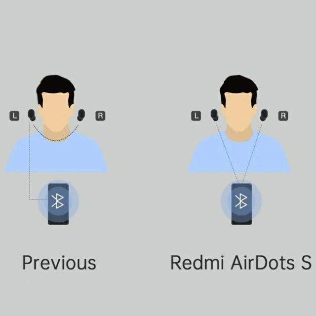 Redmi Airdots Versão S - Originais com 6 meses de garantia - Foto 5