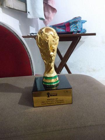 Taça  Copa Do Mundo 2014  - Foto 2
