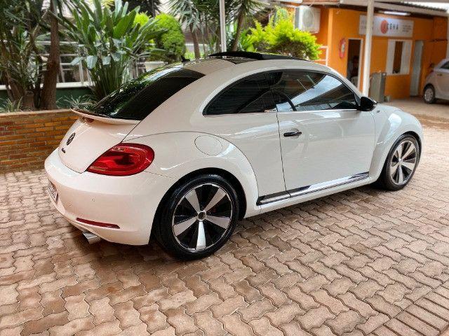 VW Fusca 2.0 TSi Turbo Manual 2013 + Teto, cheio de upgrades, 390 hp Rocket! - Foto 12
