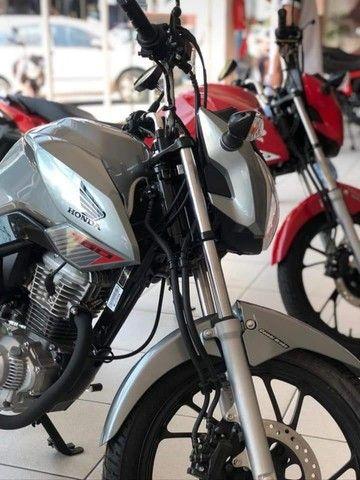Moto Honda Fan 160 Entrada: 1.480 Financiada!!! - Foto 4