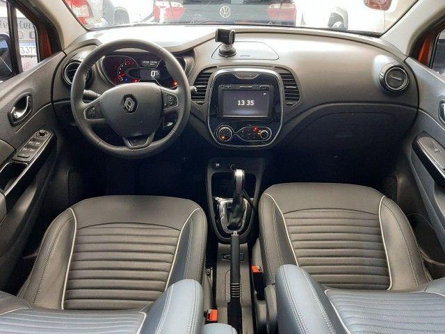 Renault Captur Intense 1.6 automatico CVT 2018 único dono. Revisões na concessionária. - Foto 7