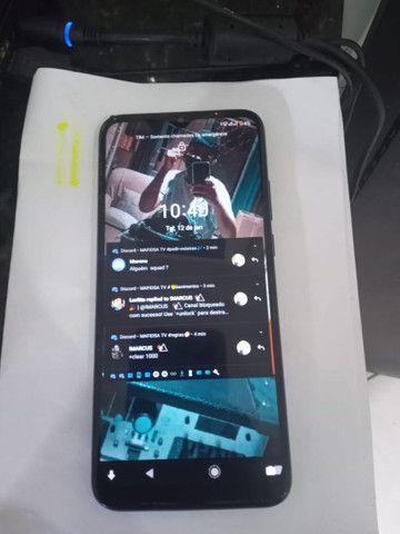 Moto G8 Power 7 meses de uso aceito cartão