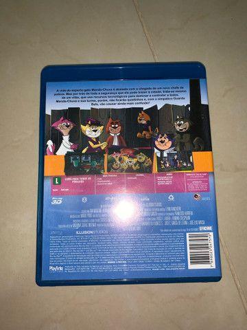 DVD Blu-ray 3D Manda-chuva o filme - Foto 3