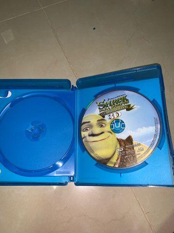 DVD Blu-ray 3D Shrek Para Sempre  - Foto 3