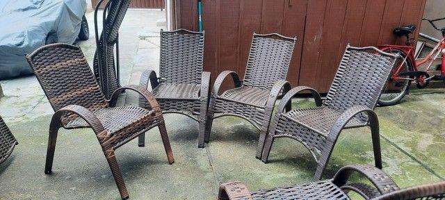 Lindas cadeiras Sofia luxo  - Foto 2