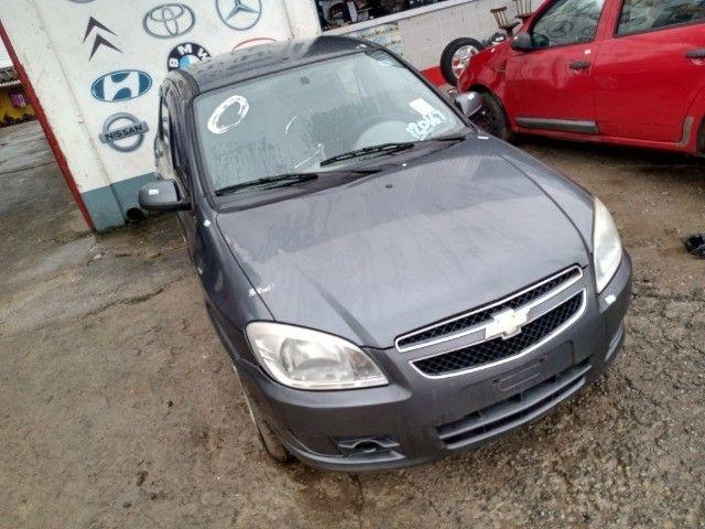 Gm Chevrolet Prisma 1.4 LT 2011 2012 Para Retirada de Peças - Foto 2