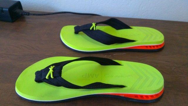 Chuteira Nike futsal magistaX e chinelo Kenner NK5 AMP masculino - Foto 3