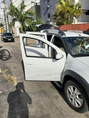 Renault Duster - branca - automático - único dono - Foto 7