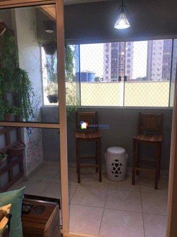 Apartamento com 2 dormitórios à venda, 64 m² por R$ 249.000,00 - Parque Amazônia - Goiânia - Foto 6