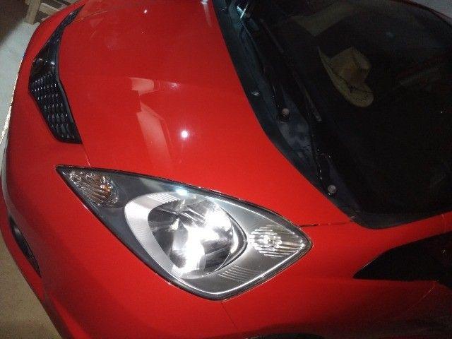 Vendo Honda fit 2009 vermelho 31 mil - Foto 3