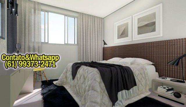 Apartamento em Goiânia, 2Q (1Suíte), 55m2, Garagem, Lazer Completo! Parcela. - Foto 3