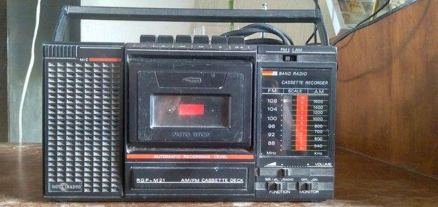 Rádio gravador motoradio