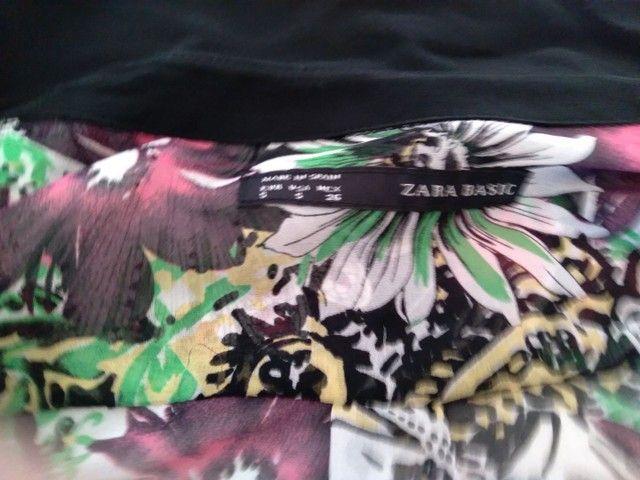 Camisa feminina marca zara  - Foto 4