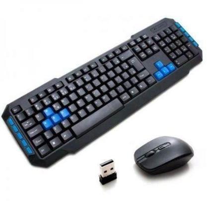 Teclado+ Mouse Gamer Wireless 2.4ghz