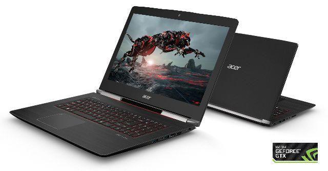 Notebook Gaming Acer Aspire V Nitro Black Edition - Excepcional