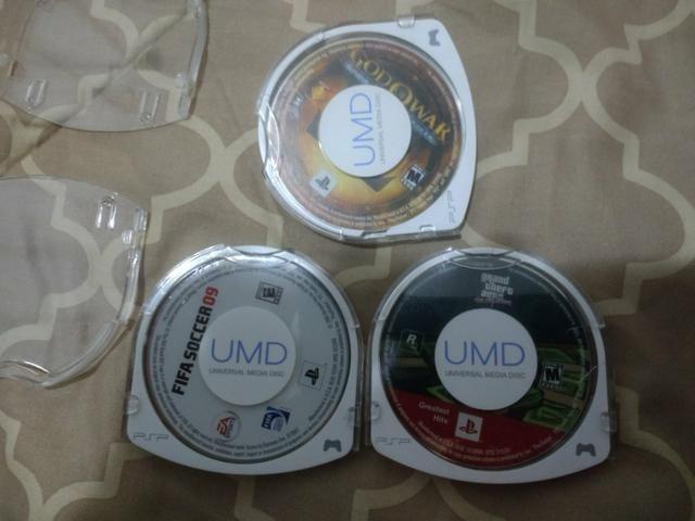 Jogos originais de PSP { UMD }