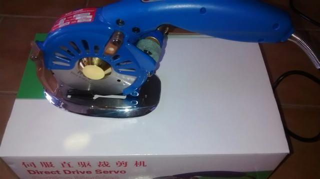 Maquina de cortar tecido de disco 4