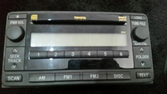 Central original hilux 6 cds