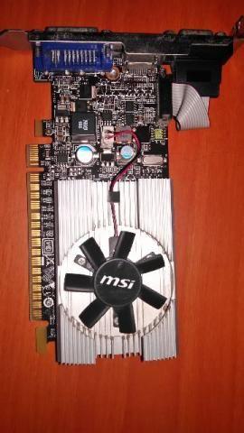 Placa de vídeo GT210 1gb
