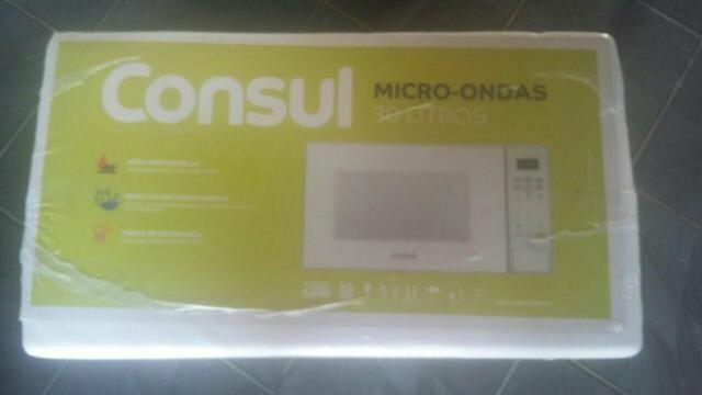 Vende-se micro-ondas cónsul 30 litros
