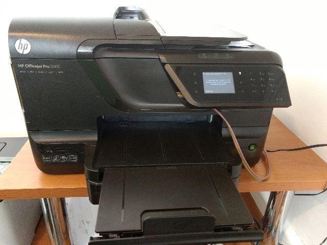 Impressora HP Pro 8600 com Bulk (Leia Anuncio)