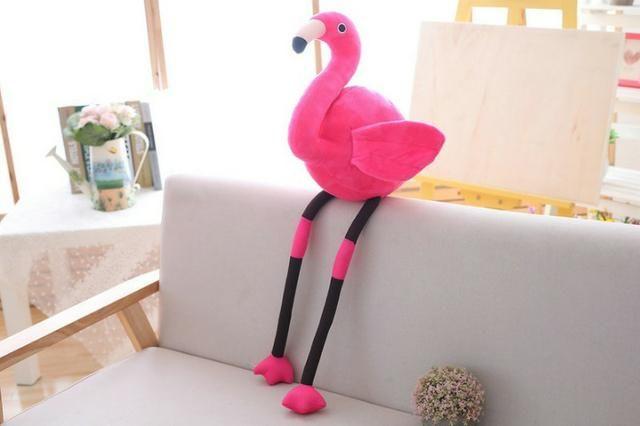 Flamingo de pelúcia 90cm! Urso de Pelúcia Crianças - Artigos ... 97bf4e7471b0a