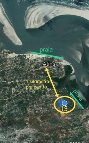 Sítio Atins 13 hectares na frente do rio