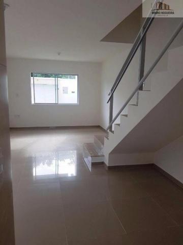 casa duplex em rua privativa no eusebio proxima ao centro - Foto 5