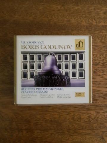 Cd Duplo - Mussorgsky: Boris Godunov - Filarmônica de Berlim