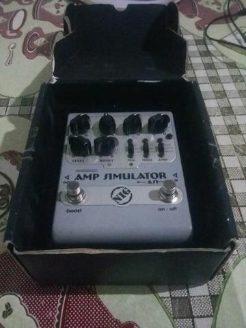 Vendo ou troco pedal Amp Simulator Nig