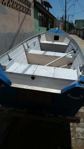 Vendo esse kit barco, motor e carretinha