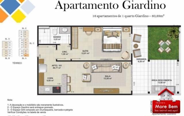 Apartamento 1 Suíte - Portinho - Cabo Frio/RJ Lançamento!!!! - Foto 5