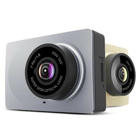 Câmera Veicular Xiaomi Yi 2.7 de Tela, Compacta Dash Camera Para Carro