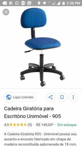 Cadeira secretaria semi nova