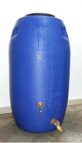 Tambor Cisterna 250 Litros Completa Com Torneira e Registro VAP - (Reservatório/Bombona/Ba - Foto 5