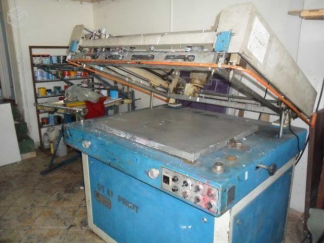 Vendo máquina serigrafica semi automatica Otiam