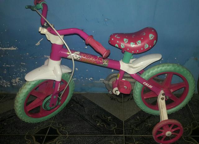 Bicicleta da Barbie infatil