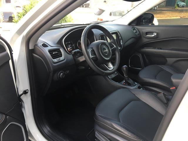 Jeep Compass Longetude 2.0 2018 Flex Automático - Foto 13