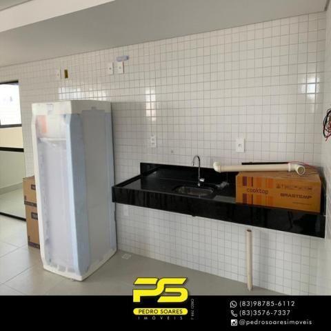 Apartamento com 2 dormitórios à venda, 62 m² por R$ 235.000 - Expedicionários - João Pesso - Foto 4