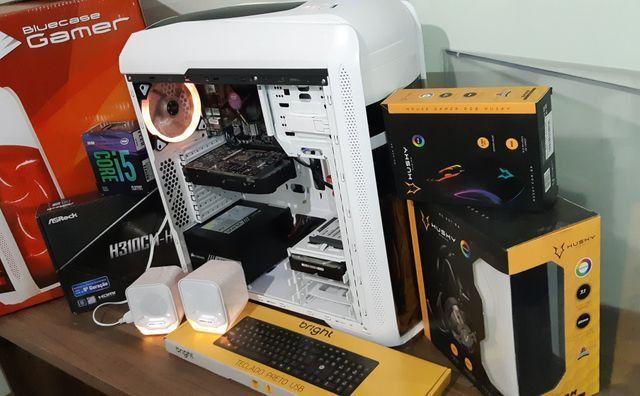 PC game 9°geração, i5 9400f, HD ssd240g, Gtx1050, 8g dd4, até 10x sj - Foto 4
