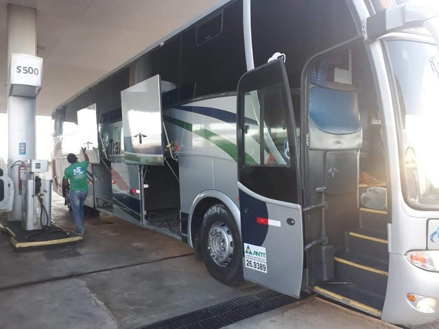 Ônibus rodoviário com ar - Foto 8