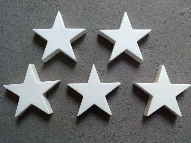 05 estrelas em fibra de vidro decoração - Foto 3