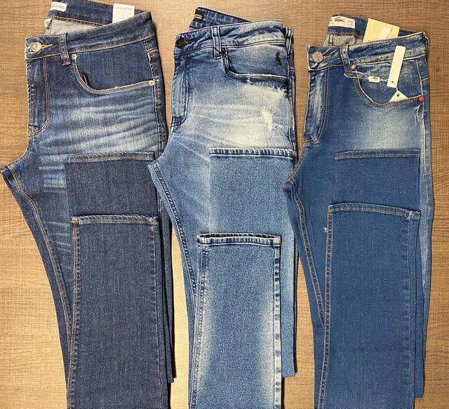 Calças jeans masculina ( entregamos) - Foto 2