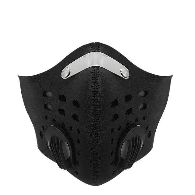 Mascara anti poluição virus com válvula ciclismo bike bicicleta caminhada corrida esportes - Foto 4