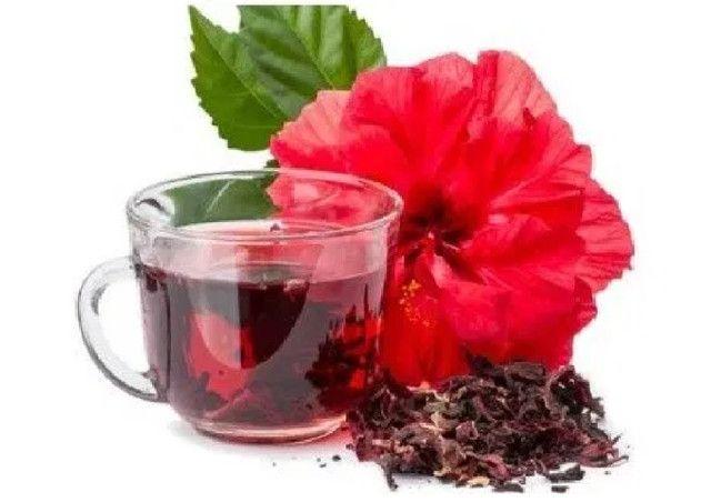 Chá Hibisco Vemat - (caixa C/ 10 Un. C/ 10 Sachês) - Foto 5