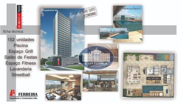 Apartamento com 1 dormitório à venda, 33 m² por R$ 244.500,00 - Jardim Nova Yorque - Araça - Foto 7